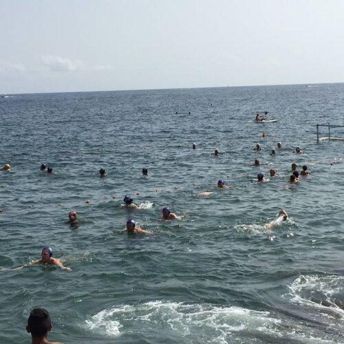 Pallanuoto a mare e nuoto sincronizzato al Lidò
